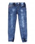 0099 Miss Happy джинсы на девочку на резинке весенние стрейчевые (23-28, 6 ед.): артикул 1090469