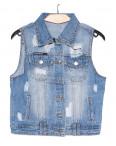 0615 New jeans жилетка джинсовая женская весенняя котоновая (XS-XXL, 6 ед.): артикул 1090503