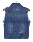0619 New jeans жилетка джинсовая женская стильная весенняя котоновая (XS-XXL, 6 ед.): артикул 1090507