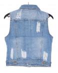 0620 New jeans жилетка джинсовая женская стильная весенняя котоновая (XS-XXL, 6 ед.): артикул 1090509