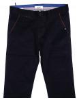 0672-29 Disvocas брюки мужские батальные темно-синие весенние стрейчевые (32-38, 8 ед.): артикул 1090535
