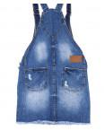 Y 0036-12 Relucky комбинезон-юбка джинсовый весенний котоновый (25-30, 6 ед.): артикул 1090539