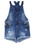 A 0001 Relucky комбинезон-шорты джинсовый женский стрейчевый (25-30, 6 ед.): артикул 1090547