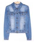 8911 Zijinyan куртка джинсовая женская батальная весенняя стрейч-котон (L-5XL, 6 ед.): артикул 1090564