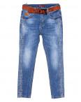 8196 Vanver джинсы женские батальные с декоративной отделкой весенние стрейчевые (28-33, 6 ед.) : артикул 1090570