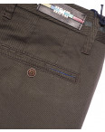 0636-4 Pobeda брюки мужские молодежные коричневые весенние стрейчевые (27-34, 8 ед.): артикул 1090581