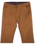 0133-5 Disvocas брюки мужские светло-коричневые весенние стрейчевые (29-38, 8 ед.): артикул 1090585