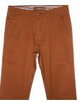 0049-37 Feerars брюки мужские молодежные светло-коричневые весенние стрейчевые (28-36, 8 ед.): артикул 1090589