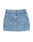 0603 Ondi юбка джинсовая с царапками котоновая (36-42, евро, 5 ед.): артикул 1090614