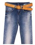 9429-630 Colibri джинсы женские зауженные с теркой весенние стрейчевые (25-30, 6 ед.): артикул 1090734