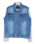 2031-1 In Yesir куртка джинсовая мужская батальная комбинированная весенняя стрейчевая (XL-5XL, 5 ед.): артикул 1090794