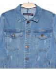 8008 In Yesir куртка джинсовая мужская с царапками весенняя котоновая (S-XXL, 6 ед.): артикул 1090800