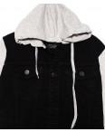 2028-2 In Yesir куртка джинсовая мужская комбинированная с капюшоном весенняя котоновая (S-XXL, 6 ед.): артикул 1090805