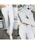 9761 Sunbird джинсы женские батальные белые стрейчевые (30-38, 6/12 ед.): артикул 1090716