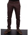 0972-1 Big Wood брюки мужские коричневые весенние стрейчевые (29-38, 8 ед.): артикул 1090845