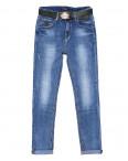 9036 Dknsel джинсы женские батальные с царапками весенние стрейчевые (28-33, 6 ед.): артикул 1090873