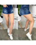 A 0071 Relucky шорты джинсовые женские с рванкой и царапками стрейчевые (25-30, 6 ед.): артикул 1090550