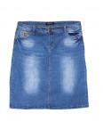 1306 Lady N юбка джинсовая батальная весенняя стрейчевая (31-38, 6 ед.): артикул 1091050
