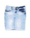0772 Philipp Plein юбка джинсовая с царапками летняя стрейчевая (26-30, 5 ед.): артикул 1090978