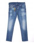 0013-21-004 Dsquared джинсы мужские батальные с царапками летние стрейчевые (32-38, 7 ед.): артикул 1091088