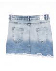 0058-1 (E58 (1)) Ondi юбка джинсовая стильная стрейчевая (36-42, евро, 5 ед.): артикул 1091163