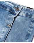 0050 (E50) Ondi юбка джинсовая на пуговицах стрейчевая (36-42, евро, 5 ед.): артикул 1091165