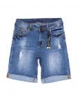 A 0578-15 Relucky шорты джинсовые женские с рванкой и царапками стрейчевые (25-30, 6 ед): артикул 1091215
