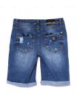 A 0158-15 Relucky шорты джинсовые женские батальные с царапками стрейчевые (31-38, 6 ед): артикул 1091217