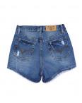 A 0025-12 Relucky шорты джинсовые женские с рванкой котоновые (25-30, 6 ед): артикул 1091222