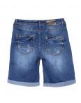 A 0154-15 Relucky шорты джинсовые женские батальные с царапками стрейчевые (31-38, 6 ед): артикул 1091239