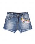 0130 Saint Wish шорты джинсовые женские с декоративной отделкой стрейчевые (25-30, 6 ед.): артикул 1091268