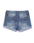 0152 Saint Wish шорты джинсовые женские с декоративной отделкой стрейчевые (25-30, 6 ед.): артикул 1091276
