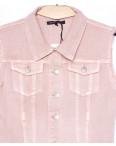 0139-3 Saint Wish жилетка джинсовая женская розовая летняя котоновая (S-L, 3 ед.): артикул 1091281