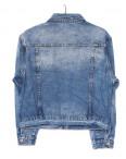 0150 Saint Wish куртка джинсовая женская с декоративной отделкой летняя котоновая (S-L, 3 ед.): артикул 1091284