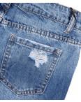 7060 New jeans шорты джинсовые женские с рванкой котоновые (25-30, 6 ед.): артикул 1091292
