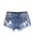 7049 New jeans шорты джинсовые женские с рванкой котоновые (25-30, 6 ед.): артикул 1091295