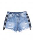 7055 New jeans шорты джинсовые женские с рванкой котоновые (25-30, 6 ед.): артикул 1091298
