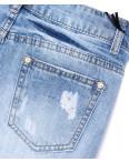 7052 New jeans шорты джинсовые женские с рванкой котоновые (25-30, 6 ед.): артикул 1091304