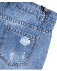 7054 New jeans шорты джинсовые женские с рванкой котоновые (25-30, 6 ед.): артикул 1091308