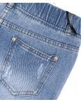 7012 New jeans шорты джинсовые женские на резинке с рванкой котоновые (25-30, 6 ед.): артикул 1091325