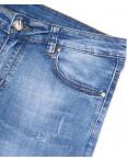 5076 New jeans шорты джинсовые мужские молодежные с царапками стрейчевые (28-36, 8 ед.): артикул 1091386