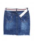 7039 New jeans юбка джинсовая с царапками стрейчевая (25-30, 6 ед.): артикул 1091393