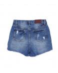 A 0052-15 Relucky шорты джинсовые женские с рванкой котоновые (25-30, 6 ед.): артикул 1091509