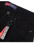 A 0031-15 Relucky шорты джинсовые женские черные с рванкой котоновые (25-30, 6 ед.): артикул 1091513