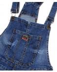 A 0138-15 Relucky комбинезон-шорты джинсовый женский с  царапками стрейчевый (25-30, 6 ед.): артикул 1091528