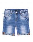 8221 Victory.C шорты джинсовые женские с царапками стрейчевые (25-30, 6 ед.): артикул 1091879