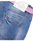 6121-3 Like шорты джинсовые женские батальные с рванкой стрейчевые (30-36, 6 ед.): артикул 1091912
