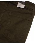 0438 Ondi брюки женские на манжете с боковыми карманами весенние стрейчевые (27-32, 6 ед.): артикул 1092010