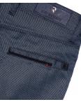 0828 petrol Big Rodoc брюки мужские синие весенние стрейч-котон (30-36, 7 ед.): артикул 1092118