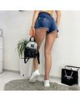 A 0077 (A77) Relucky шорты джинсовые женские с рванкой и царапками стрейчевые (25-30, 6 ед): артикул 1091212